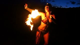 Video Pele's Daughter ~ Fire Dancing in Hawaii ~ SeaFire Poi Spinning and Hooping download MP3, 3GP, MP4, WEBM, AVI, FLV Juli 2018