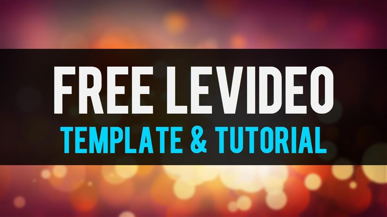 Free levidio 30 powerpoint template tutorial youtube toneelgroepblik Image collections