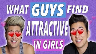 Things GUYS find attractive in GIRLS ! (ft. Bradlee)   Brennen Taylor