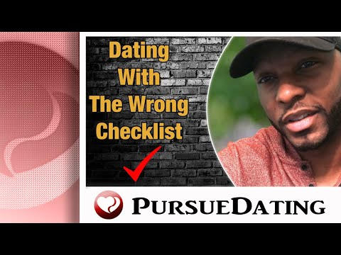 Dating With Wrong Checklist
