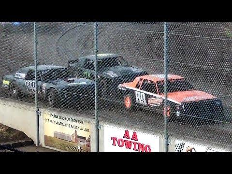 Street Stock Heat Races @ Willamette Speedway 2017