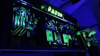 Raz3r D3sk - Filling + Leaktest