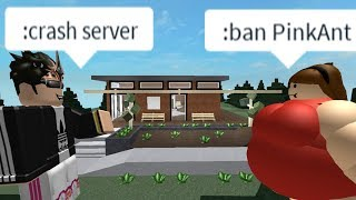 ROBLOX Cafe TROLLING (crashing servers)