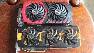 290 vs 1060 Showdown - Sapphire Tri-X R9 290 vs MSI Gaming X GTX1060