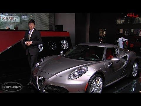2015 Alfa Romeo 4C finally debuts