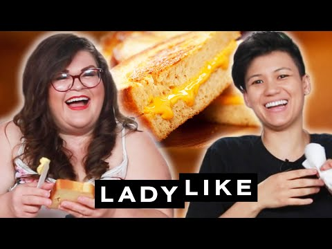 We Competed To Make The Best Grilled Cheese • Ladylike
