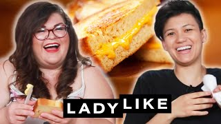 Download We Competed To Make The Best Grilled Cheese • Ladylike Mp3 and Videos