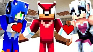 Minecraft Sonic The Hedgehog - Sonica And Rouge Both LOVE Knuckles! [93]