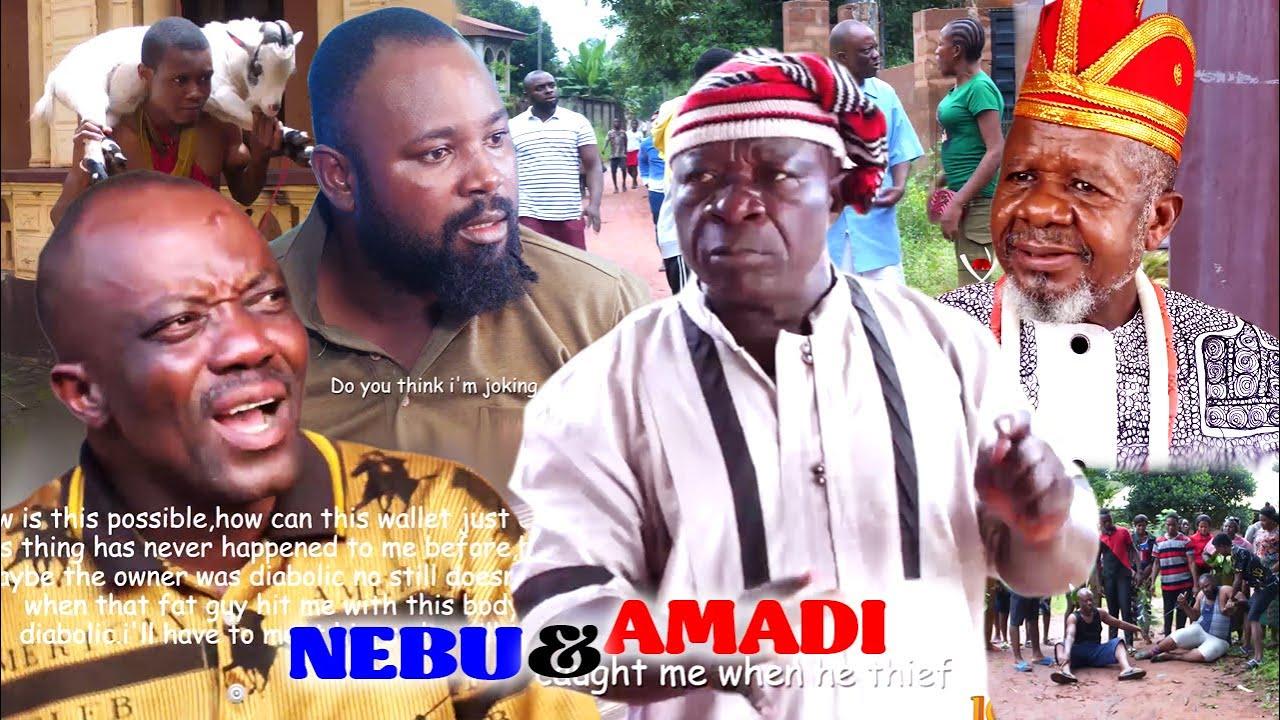 Download NEBU AND AMANDI 1&2 - UWAEZUOKE 2021 LATEST NIGERIAN NOLLYWOOD IGBO COMEDY MOVIE FULL HD