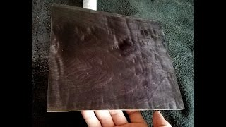Black Dyes On Oak | Black Dyes On Maple | Dye On Wood | Black Liquid Dyes To Make Wood Stain
