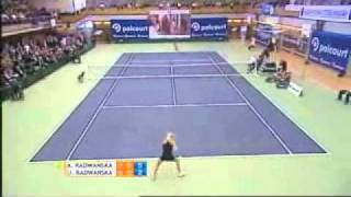 The best of Urszula Radwanska (vs Agnieszka Radwanska) PART 2