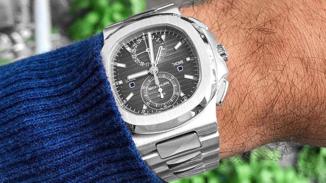 524f8e01d0b11 Patek Philippe Nautilus 5990 Travel Time Chrono - Reference 5990/1A-001  Review