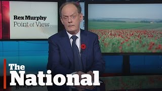 Rex Murphy | Poetry and War