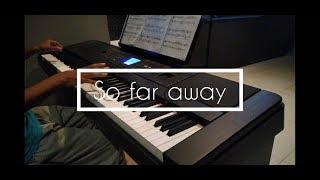 Martin Garrix, David Guetta, Jamie Scott & Romy Dya - So Far Away | Piano Rabbit's Cover
