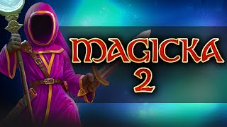 Magicka 2 Gameplay #6 - Killing Vegans