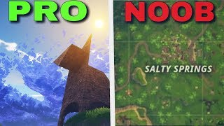 Top 5 Locations ONLY NOOBS land in Fortnite! (FORTNITE BATTLE ROYALE TOP 5)