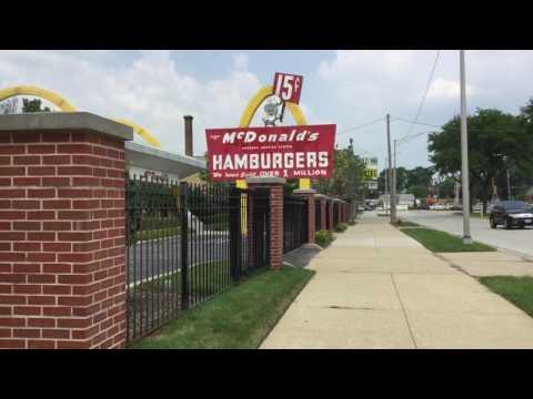 McDonalds #1 Store Museum In Des Plaines IL