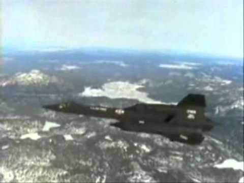 SR-71 Blackbird - Speed: Mach 3+