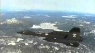 SR-71 Blackbird - Speed: Mach 3+