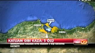 Samsun'da katliam gibi kaza: 5 ölü