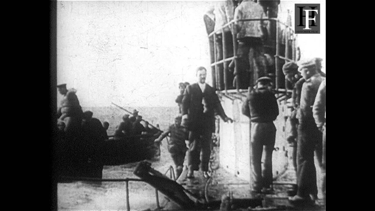 Fantastic German WWI submarine film (1914-1918)