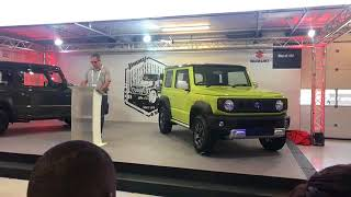 Suzuki takes the wraps off of the new Jimny at the SA Festival of Motoring