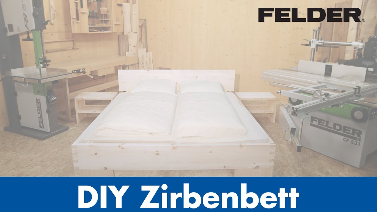 Wandle Bett diy tiroler zirbenbett produziert mit felder