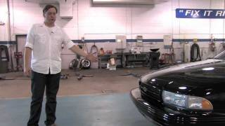 1996 Chevrolet Impala SS--Test Drive Video Review with Chris Moran from Chicago Motor Cars