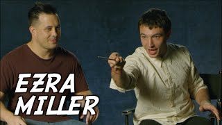 EZRA MILLER reveals FANTASTIC BEASTS 2 secrets during Interview | Jayden Rodrigues #FantasticBeasts
