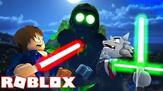 I'VE FACED THE NEW HEAD OF THE LIGHTSABER SIMULATOR AT ROBLOX!! (Saber Simulator)