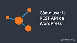 Cómo usar la REST API de WordPress Mp3