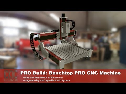 PRO Build Series: Assembling the Benchtop PRO CNC Router from CNC Router Parts