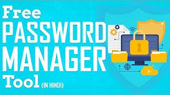 Free Password Manager Tool | Best Chrome Extension to Manage Passwords in 2019