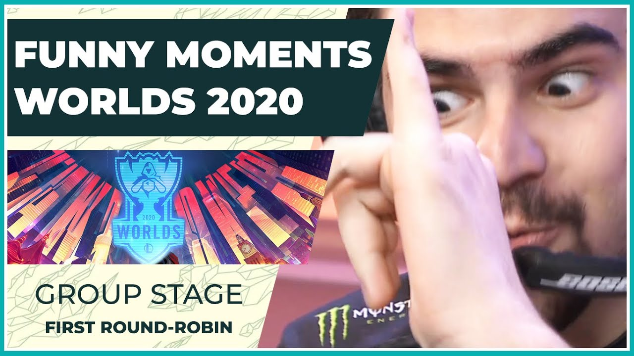 Funny Moments - Worlds 2020: Group Stage | First Round Robin