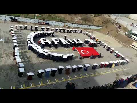 Etlik Anadolu İmam Hatip Lisesi Afrin'e Destek