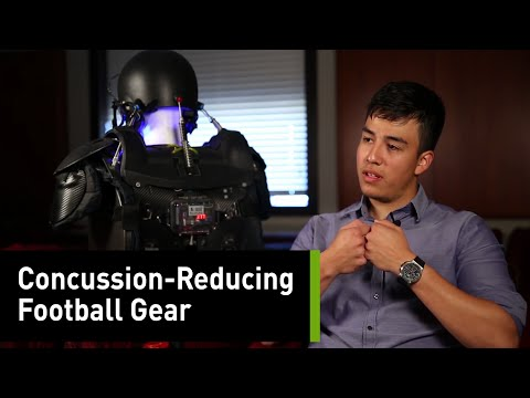 Concussion-Reducing Football Gear