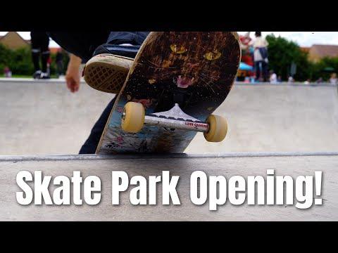 Saxmundham Skate Park Opening!