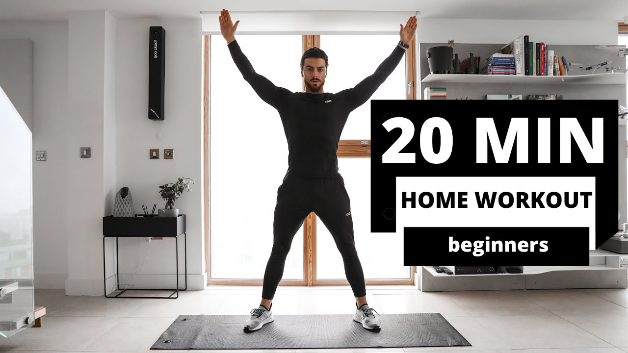 20 MIN HOME WORKOUT | No Equipment | Rowan Row