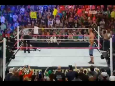 WWE Night Of Champions 2012 Highlights