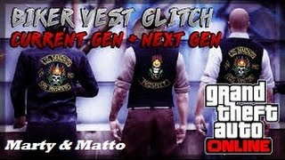 GTA 5 Online: Sleeveless Biker Vest, With Crew Logo ''MC Vest!''(, 2016-06-01T12:51:21.000Z)