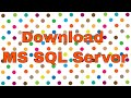 How to Download SQL Server 2016 for Trial