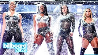 Fifth Harmony 2017 MTV VMAs Performance Throws Shade at Camila Cabello   Billboard News