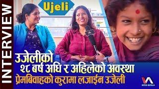 Ujeli | २८ बर्षपछि एस्ती भइन उजेली, यस्तो छ उजेलीको परिवार | Brinda Adhikari in media after 28 years