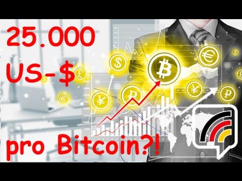 25.000 USD pro Bitcoin!   BTC-Kurs stabil?   Ethereum-High!   Bitcoin-News KW 7 - 2017