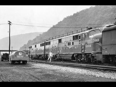 Pennsylvania Railroad Film Wheels of Steel [4K]