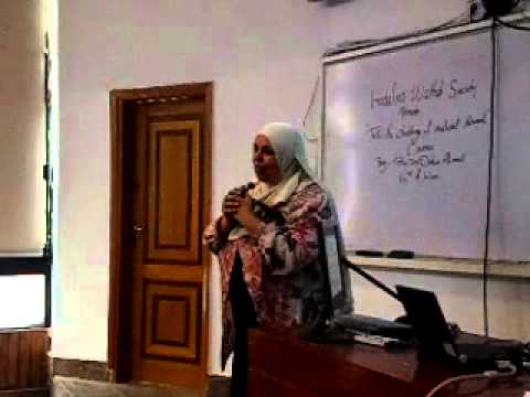 "Hadafna Wahed Society "" medical research course "" 3rd session ( study design 1 )"