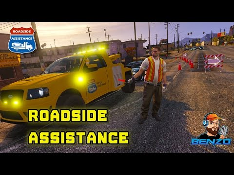 GTA 5 - Day 1 - Roadside Assistance - Simulation Sunday