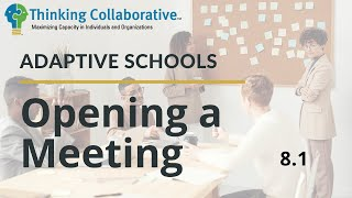 8.1 Opening a Meeting