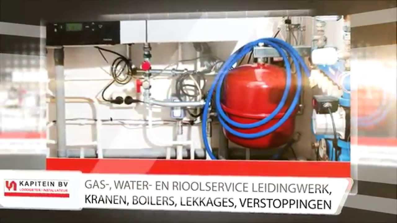 Kapitein loodgieter installateur bv haarlem