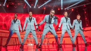 Backstreet Boys @ Shoreline Amphitheater in Mountain View, CA - PART 01